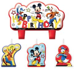 ©Disney Mickey on the Go Birthday Candle Set
