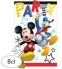 ©Disney Mickey on the Go Postcard Invites, 8ct