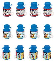 ©Disney Mickey on the Go Bubble Bottles, 12ct