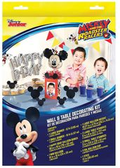 ©Disney Mickey on the Go Wall & Table Decoration Kit