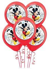 ©Disney Mickey on the Go Latex Balloons, 5ct.