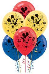©Disney Mickey on the Go Latex Balloons, 6ct.
