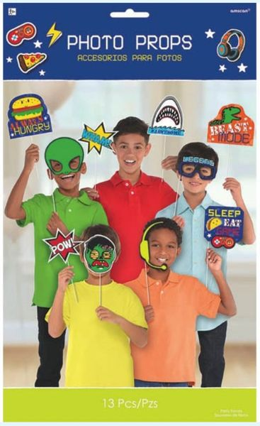 Epic Party Photo Prop Kit, 13ct