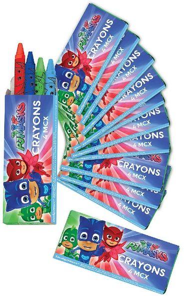 PJ Masks Crayon Favor Boxes, 12ct