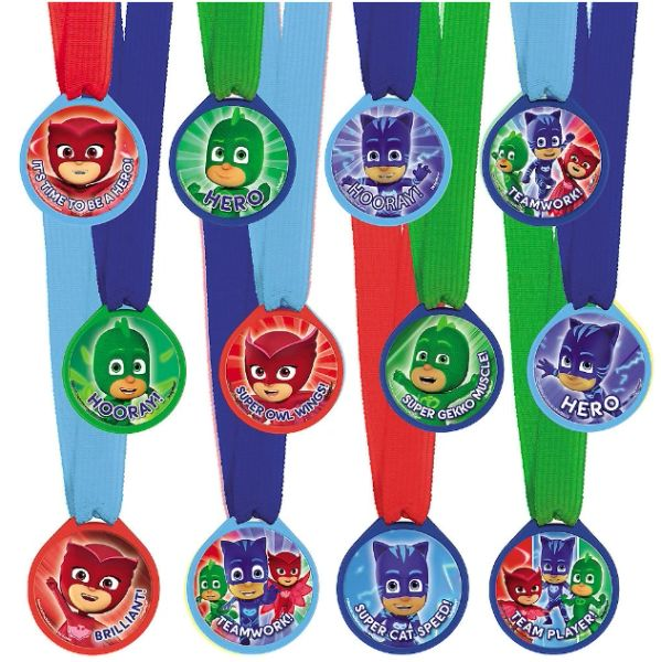 PJ Masks Mini Award Medals, 12ct