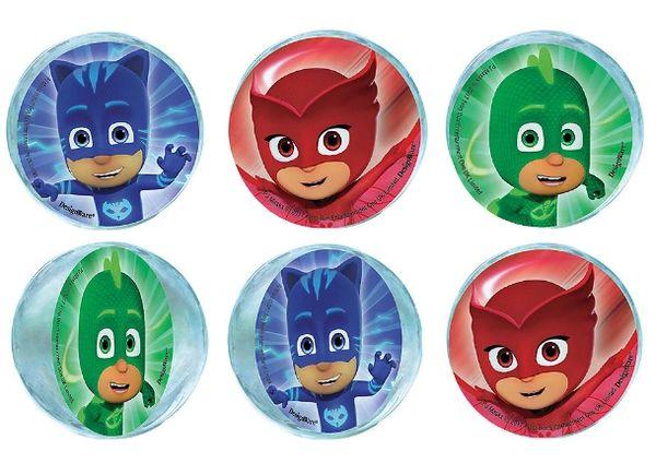 PJ Masks Bounce Balls Favors, 6ct