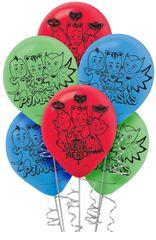PJ Masks Latex Balloons, 6ct