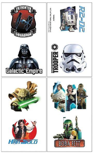 Star Wars™ Classic Tattoos, 8ct