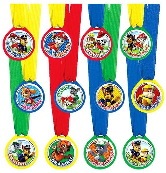 Paw Patrol™ Mini Award Medals, 12ct