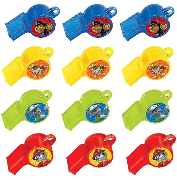 Paw Patrol™ Packaged Whistles, 12ct