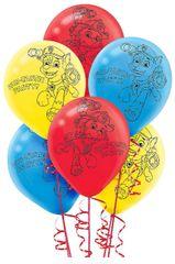 Paw Patrol™ Printed Latex Balloons, 6ct