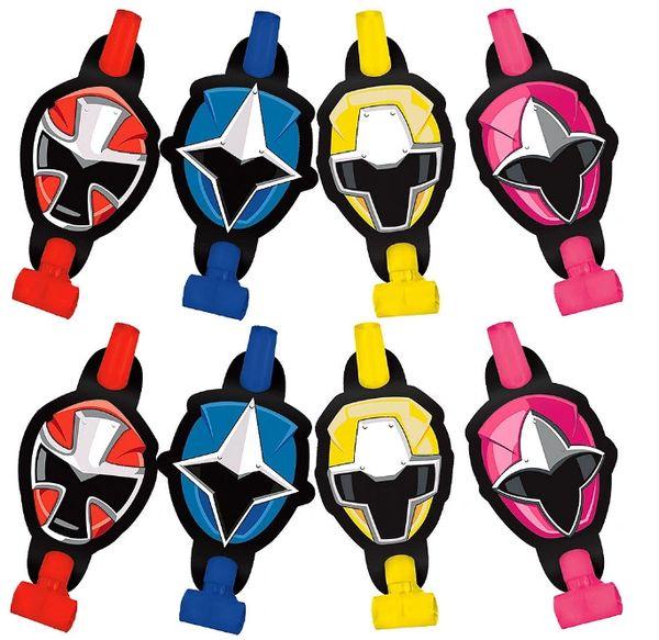 Power Rangers Ninja Steel™ Blowouts, 8ct