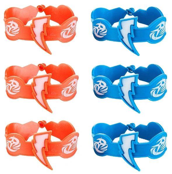 Power Rangers Ninja Steel™ Rubber Bracelets, 6ct