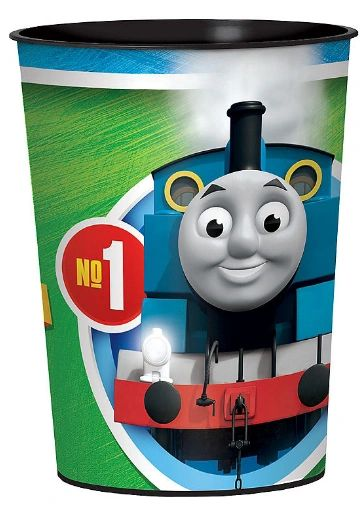 Thomas All Aboard Favor Cup, 16oz