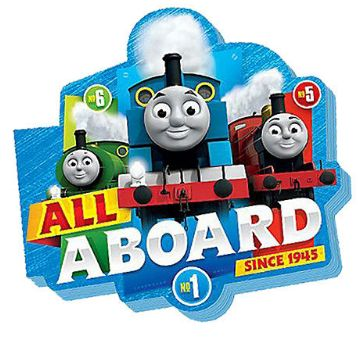 Thomas All Aboard Die Cut Notepad