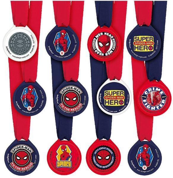 Spider-Man™ Webbed Wonder Award Medals, 12ct