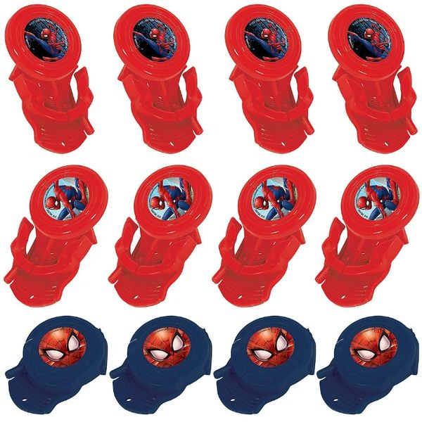 Spider-Man™ Webbed Wonder Mini Disc Shooters, 12ct