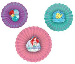 ©Disney Ariel Dream Big Paper Fan Decoration