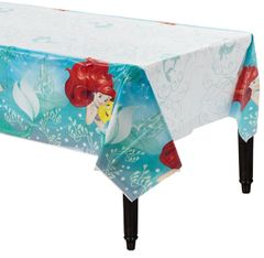 ©Disney Ariel Dream Big Plastic Table Cover