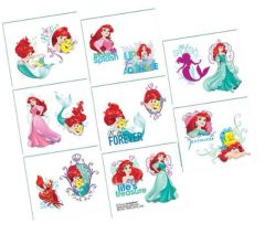 ©Disney Ariel Dream Big Tattoos
