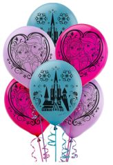 ©Disney Frozen Printed Latex Balloons, 6ct