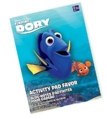 ©Disney/Pixar Finding Dory Activity Pad Favor