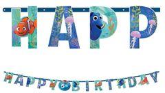 ©Disney/Pixar Finding Dory Jumbo Add-An-Age Letter Banner