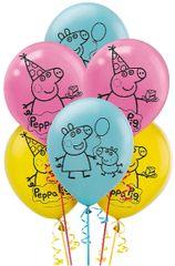 Peppa Pig™ Latex Balloons, 6ct