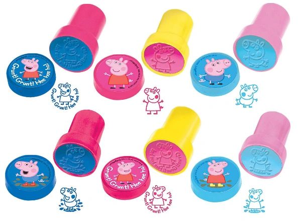 Peppa Pig™ Stamper Set Favors, 6ct