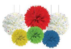 Balloon Fun Fluffy Tissue Kit, 6pcs