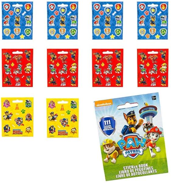 Paw Patrol™ Sticker Booklet, 111 Stickers