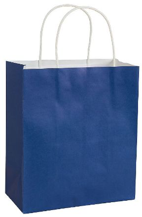 Solid Kraft - Bright Royal Blue Medium Bag