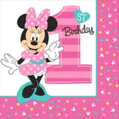 ©Disney Minnie's Fun To Be One Luncheon Napkins, 16ct