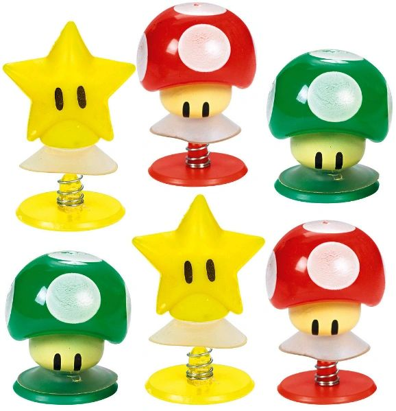 Super Mario Pop-Ups, 6ct