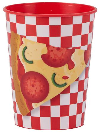 Pizza Party Favor Cup, 16oz