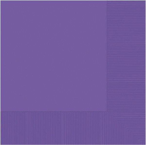 Purple 3-Ply Dinner Napkins, 20ct