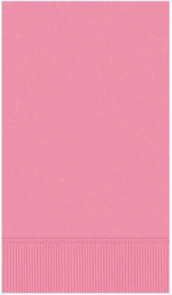 Pretty Pink 3-Ply Guest Towels, 16ct