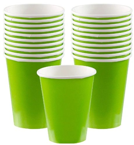 Kiwi Paper Cups, 9oz - 20ct