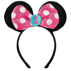 ©Disney Minnie's Fun To Be One Novelty Headband