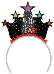 Happy New Year Tiara - Multi