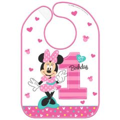 ©Disney Minnie's Fun To Be One Baby Bib