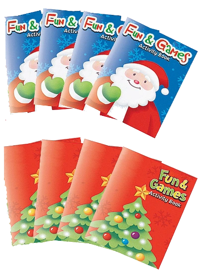 Christmas Activity Pad, 8ct