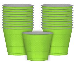 Kiwi Plastic Cups, 9 oz - 20ct