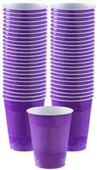 Big Party Pack New Purple Plastic Cups, 16 oz - 50ct