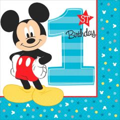 ©Disney Mickey's Fun To Be One Lunch Napkins, 16ct
