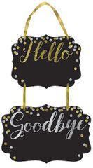 Hello, Goodbye Chalkboard