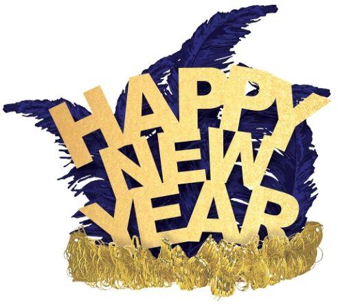 Happy New Year Tiara - Midnight