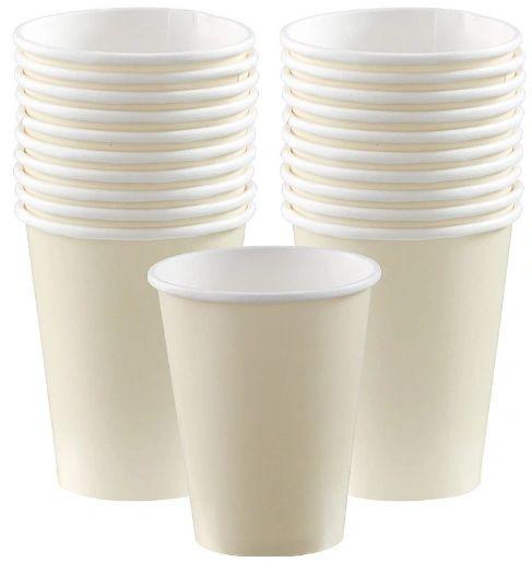 Vanilla Crème Paper Cups, 9oz - 20ct