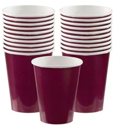 Berry Paper Cups, 9oz - 20ct