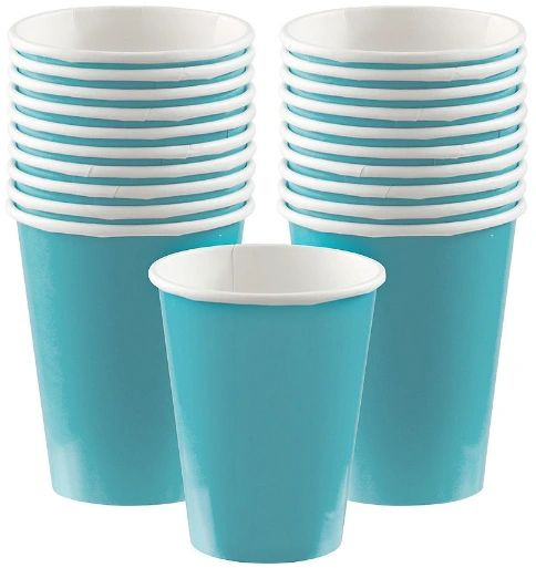 Caribbean Paper Cups, 9oz - 20ct